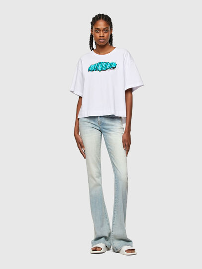 Diesel - T-BOWLESS-A1, Blanco - Camisetas - Image 4