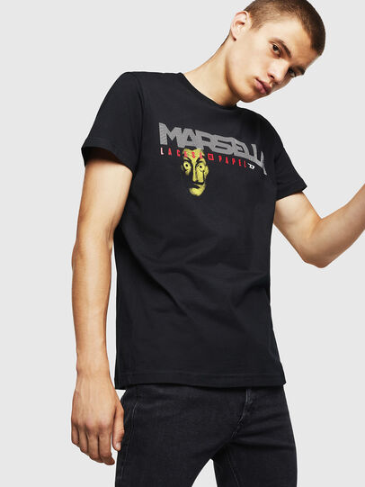 Diesel - LCP-T-DIEGO-MARSELLA, Negro - Camisetas - Image 1