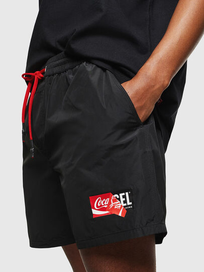 Diesel - CC-WAVE-COLA, Negro - Bañadores boxers - Image 7