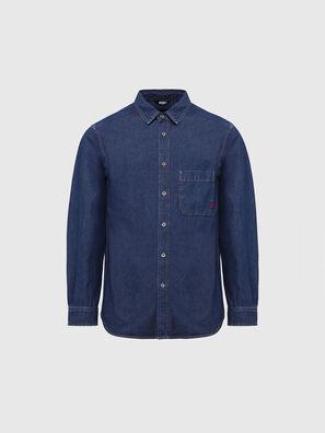 D-BILLY, Azul Oscuro - Camisas de Denim