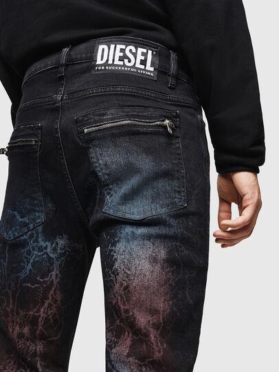 Diesel - D-Amny 0093D, Negro/Gris oscuro - Vaqueros - Image 5