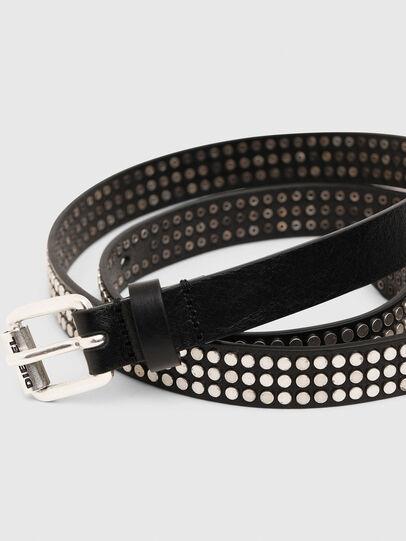 Diesel - B-STUDALL, Negro - Cinturones - Image 2