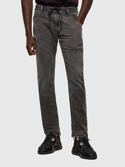 Diesel - Krooley JoggJeans® 069SY, Negro/Gris oscuro - Vaqueros - Image 1