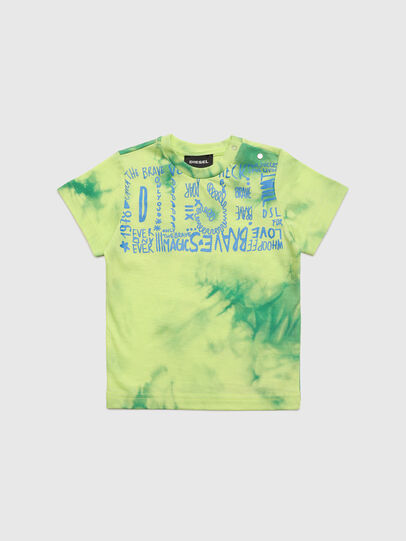 Diesel - TIMMYB, Verde - Camisetas y Tops - Image 1