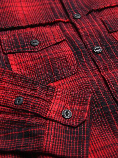 Diesel - CMILLERPATCH, Rojo - Camisas - Image 3
