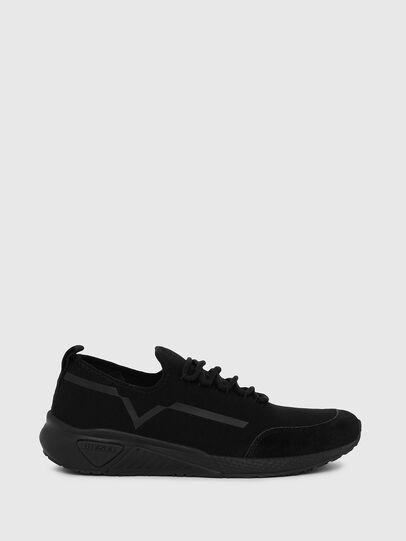 Diesel - S-KBY STRIPE W, Negro - Sneakers - Image 1