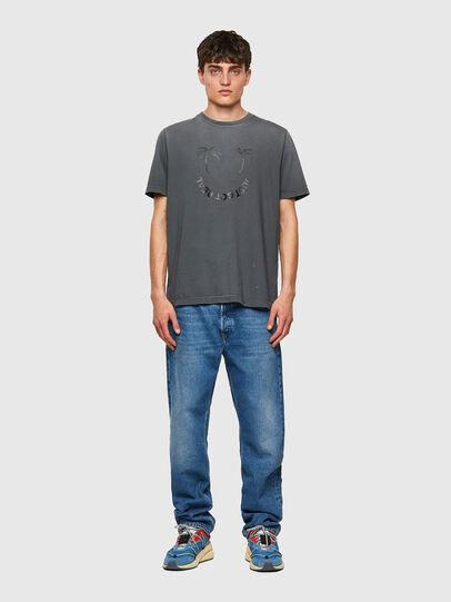 Diesel - T-JUST-B64, Gris - Camisetas - Image 4
