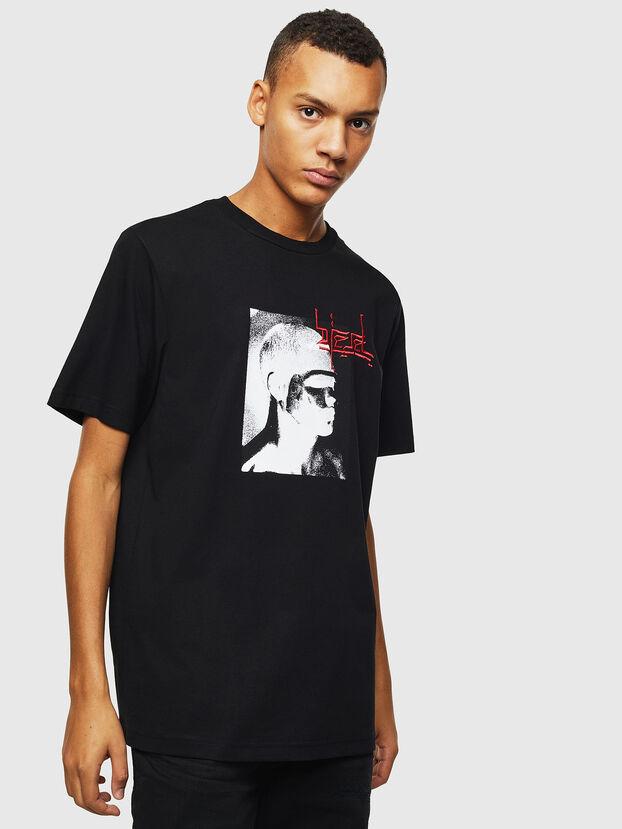 T-JUST-J21, Negro - Camisetas
