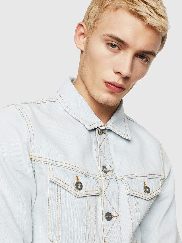 Diesel - D-GALY-F, Blue Jeans - Chaquetas de denim - Image 3