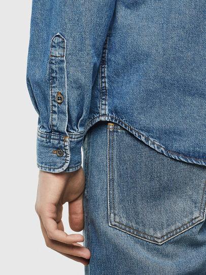 Diesel - D-BER-P, Blue Jeans - Camisas de Denim - Image 4