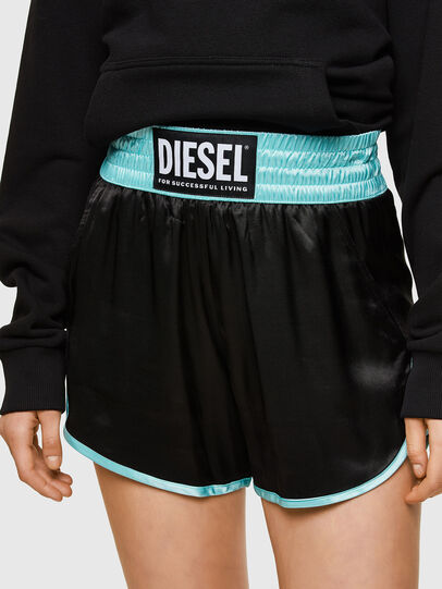 Diesel - S-DENA, Negro - Shorts - Image 3