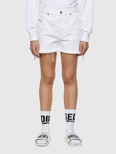 Diesel - DE-REG-R, Blanco - Shorts - Image 1