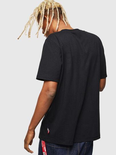 Diesel - CC-T-JUST-COLA, Negro - Camisetas - Image 3