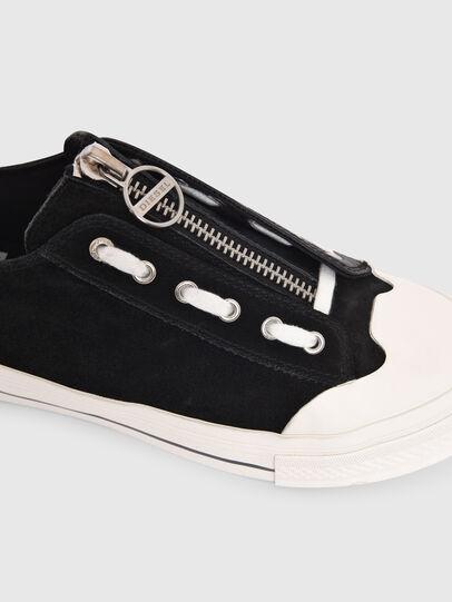 Diesel - S-ASTICO LZIP W, Negro - Sneakers - Image 4