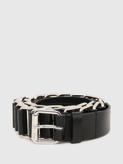 Diesel - B-BUL, Negro - Cinturones - Image 1