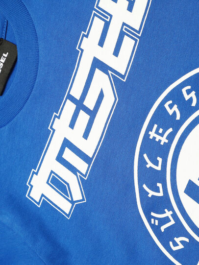 Diesel - TUCOB-R, Azul - Camisetas y Tops - Image 3