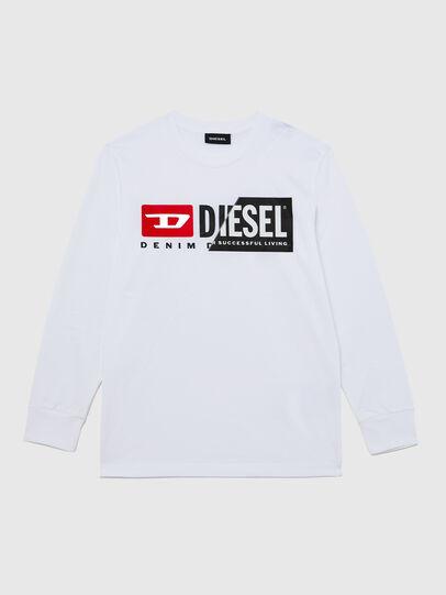 Diesel - TDIEGOCUTY ML, Blanco - Camisetas y Tops - Image 1