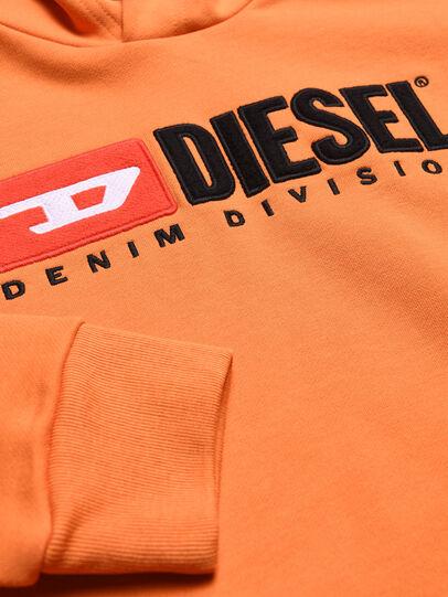 Diesel - SDIVISION OVER, Naranja - Sudaderas - Image 3