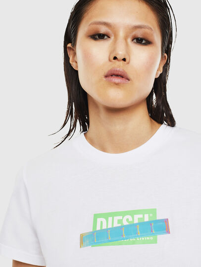 Diesel - T-SILY-S2, Blanco - Camisetas - Image 3