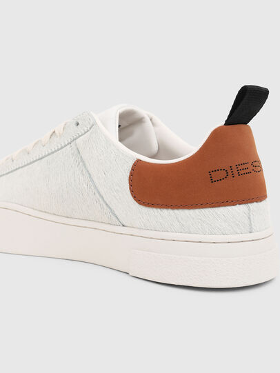 Diesel - S-CLEVER LOW LACE, Blanco/Marrón - Sneakers - Image 4