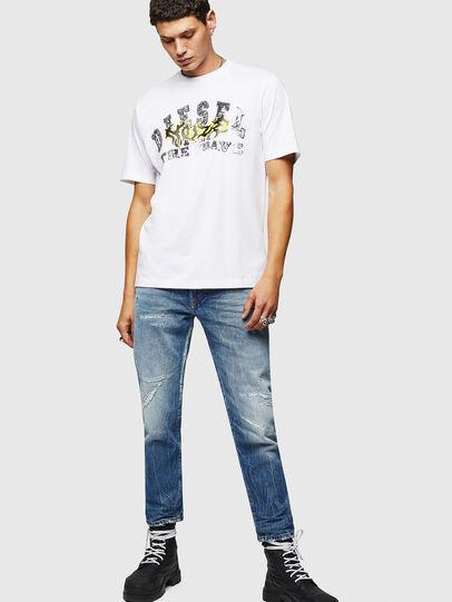 Diesel - T-JUST-B25, Blanco - Camisetas - Image 5