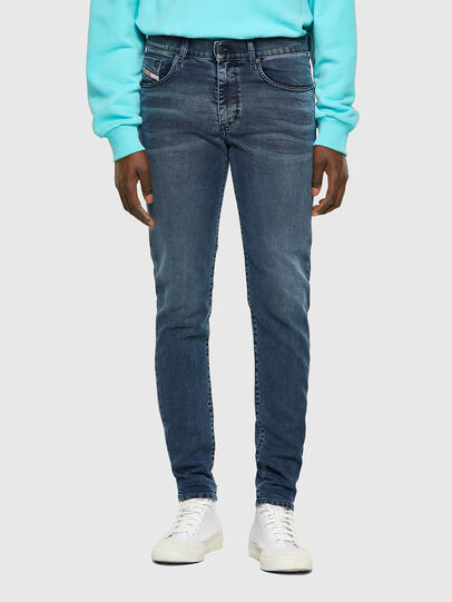 Diesel - D-Strukt JoggJeans® 069VH, Azul medio - Vaqueros - Image 1