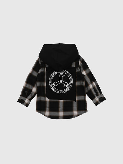 Diesel - CIBONB, Negro - Camisas - Image 2
