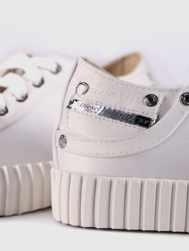 Diesel - S-EXPOSURE CLC W, Blanco - Sneakers - Image 5