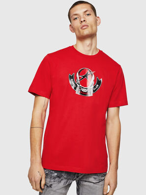 T-JUST-B1, Rojo Fuego - Camisetas