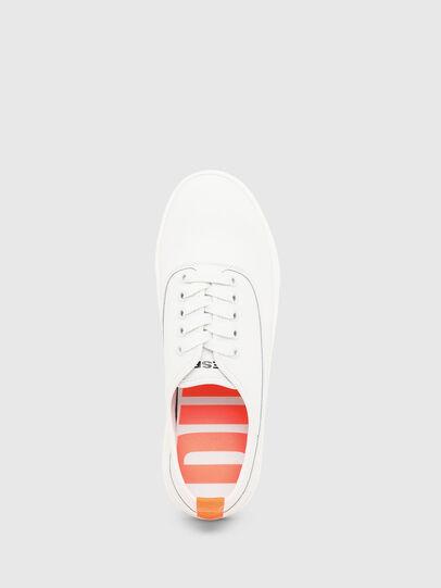 Diesel - S-VANEELA LOW, Blanco/Naranja - Sneakers - Image 5