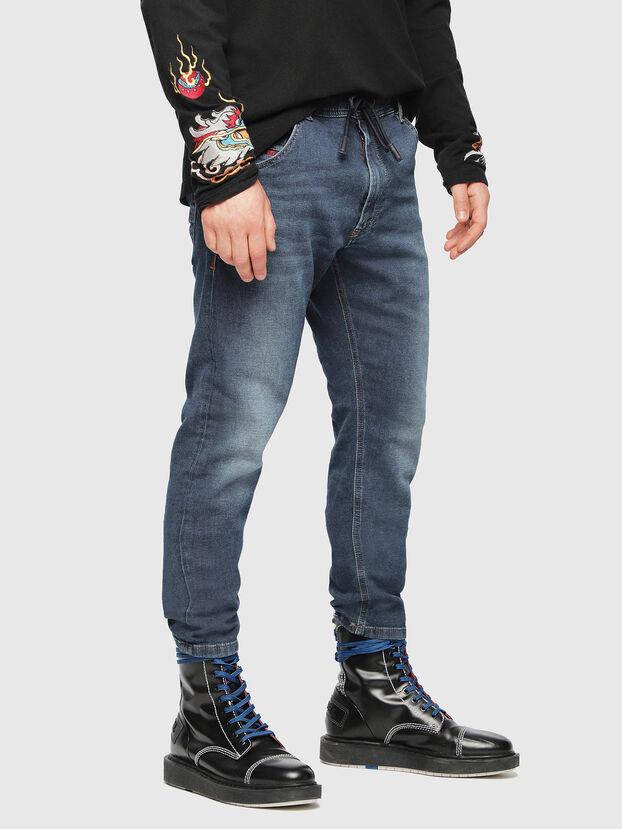 Krooley JoggJeans 084UB, Azul medio - Vaqueros