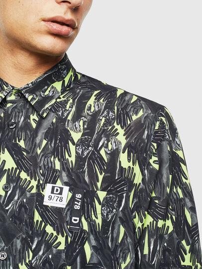Diesel - S-ATWOOD-GLOVY, Verde - Camisas - Image 7