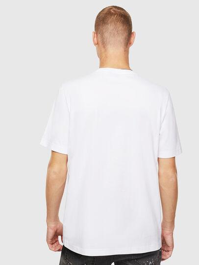 Diesel - T-JUST-J20, Blanco - Camisetas - Image 3