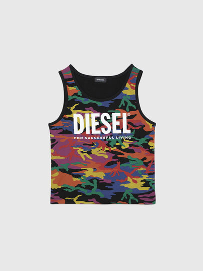 Diesel - TCANNYRBOW, Multicolor - Camisetas y Tops - Image 1