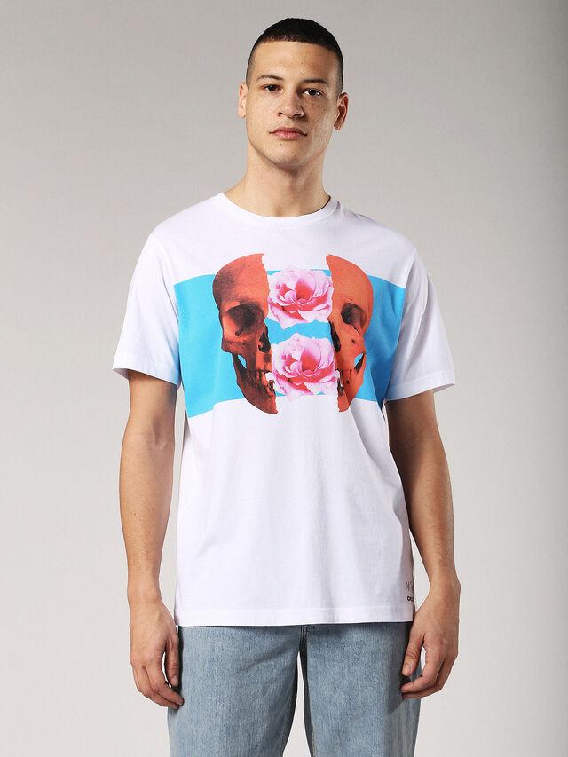 Diesel - T-JUST-SW, Blanco - Camisetas - Image 1
