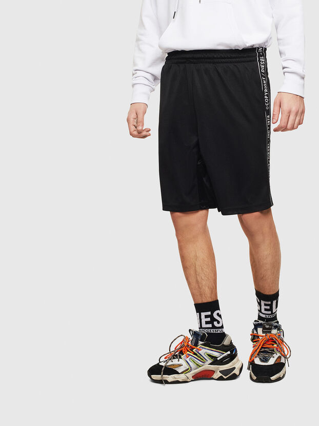 P-HITOSHI-S1, Negro - Shorts