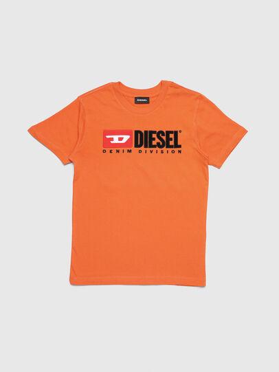 Diesel - TJUSTDIVISION, Naranja - Camisetas y Tops - Image 1