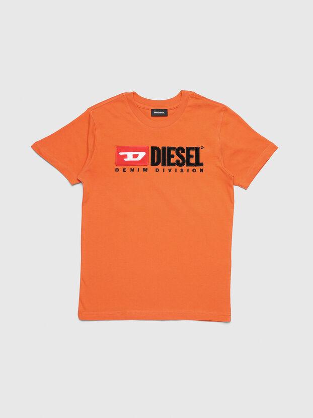 TJUSTDIVISION, Naranja - Camisetas y Tops