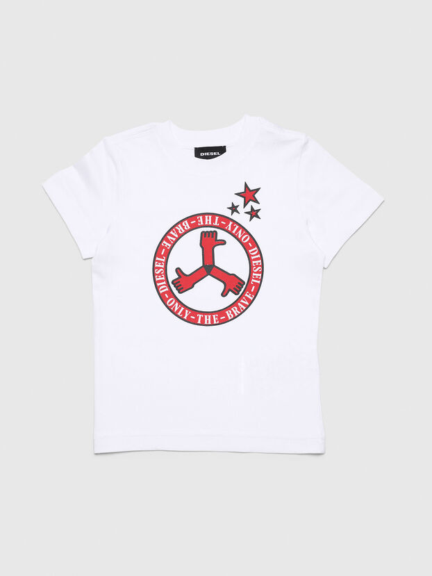 TARTB-R, Blanco - Camisetas y Tops
