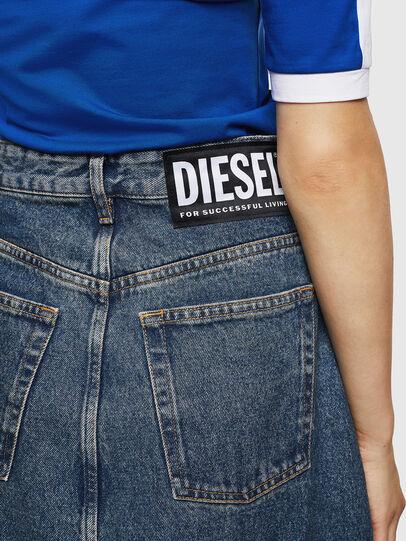 Diesel - DE-SHIRLEY, Azul medio - Faldas - Image 6