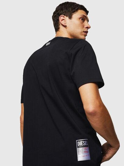 Diesel - T-JUST-B26, Negro - Camisetas - Image 2
