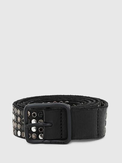 Diesel - B-GIO, Negro - Cinturones - Image 1