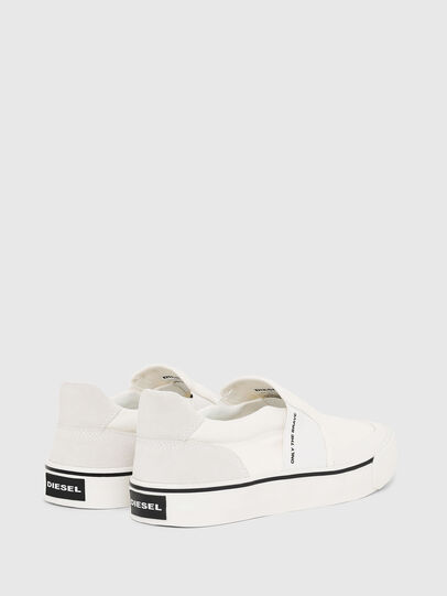Diesel - S-FLIP SO, Blanco - Sneakers - Image 3