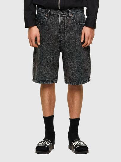 Diesel - D-MAXS-SP, Negro - Shorts - Image 1