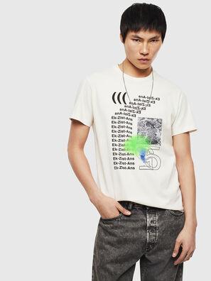 T-DIEGO-S11, Blanco - Camisetas
