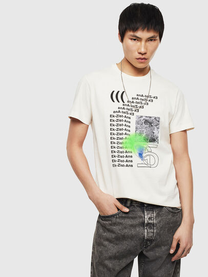 Diesel - T-DIEGO-S11, Blanco - Camisetas - Image 4