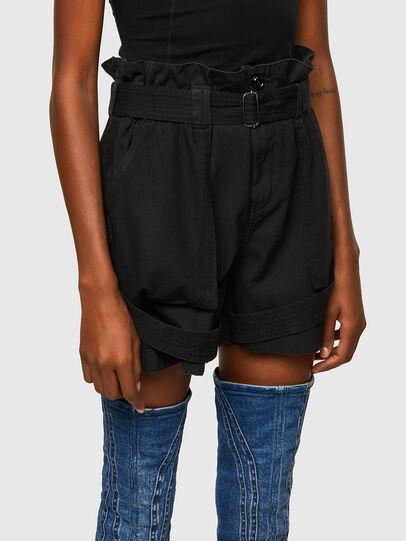 Diesel - S-FEDRA-A, Negro - Shorts - Image 3