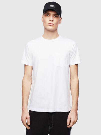 Diesel - T-RABEN-POCKET, Blanco - Camisetas - Image 1