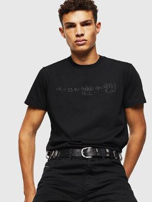 T-DIEGO-SLITS-J6, Negro - Camisetas