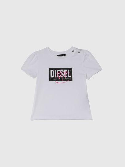 Diesel - TRIDGEB, Blanco - Camisetas y Tops - Image 1